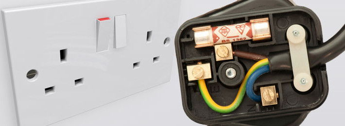 English sockets and plug